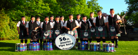 56th district pipe band